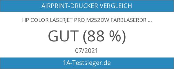 HP Color LaserJet Pro M252dw Farblaserdrucker weiß