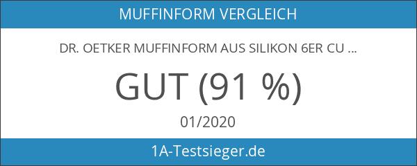 Dr. Oetker 1251 Flexxibel Muffinform 6-er Set