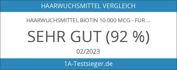 Haarwuchsmittel Biotin 10.000 mcg - für Haar-Wachstum