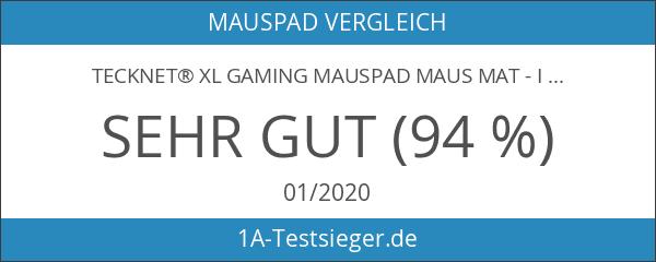 TeckNet® XL Gaming Mauspad Maus Mat - In den Maßen: