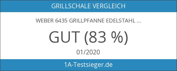 Weber 6435 Grillpfanne Edelstahl