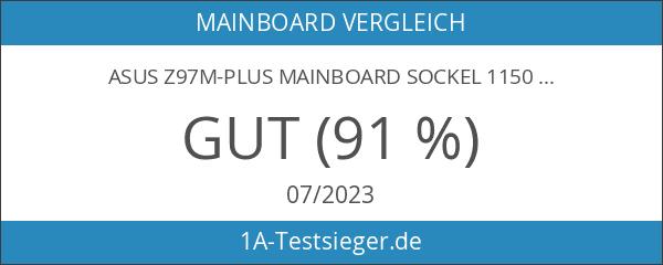 Asus Z97M-PLUS Mainboard Sockel 1150