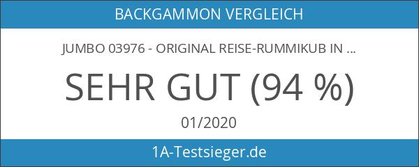 Jumbo 03976 - Original Reise-Rummikub in Tasche