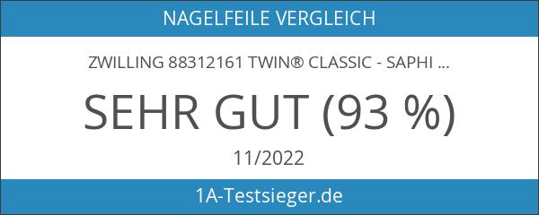 ZWILLING 88312161 TWIN® CLASSIC - Saphir-Formnagelfeile 16cm