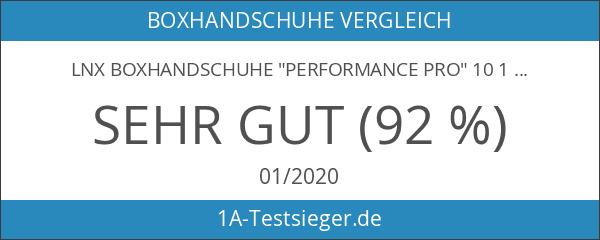 "LNX Boxhandschuhe ""Performance Pro"" 10 12 14 16 Oz -"