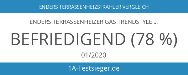 Enders 5450 Terrassenheizer Cosystand Trendstyle S mit Eco-Plus-Brenner 8 kW