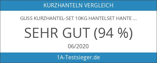 Guss Kurzhantel-Set 10Kg Hantelset Hanteln Gewichte