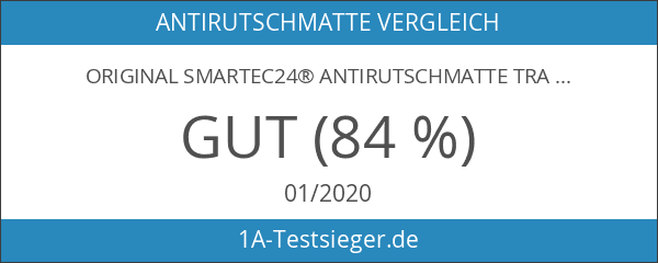 Original smartec24® Antirutschmatte transparent Anti Rutsch Matte Haftmatte Antirutschpad für