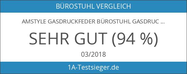 Amstyle Gasdruckfeder Bürostuhl GASDRUCKDÄMPFER GASFEDER 180mm