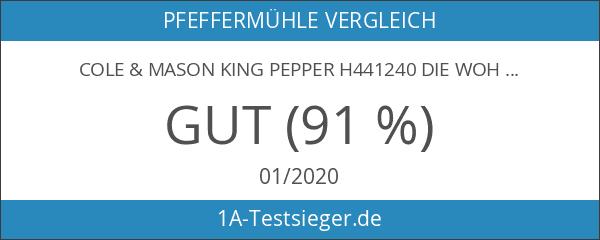 Cole & Mason King Pepper H441240 die wohl längste Pfeffermühle