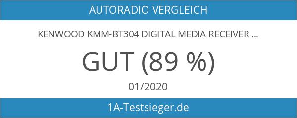 Kenwood KMM-BT304 Digital Media Receiver mit Bluetooth-Freisprecheinrichtung und Apple iPod-Steuerung