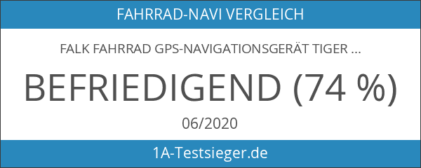 Falk Fahrrad GPS-Navigationsgerät Tiger Geo