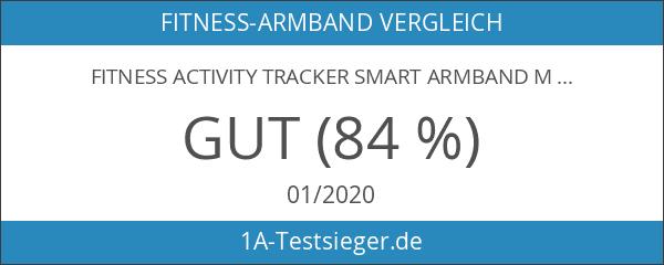 Fitness Activity Tracker Smart Armband mit Pulsmesser