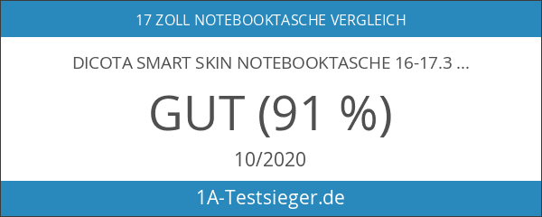 Dicota Smart Skin Notebooktasche 16-17.3 Zoll Aktentasche
