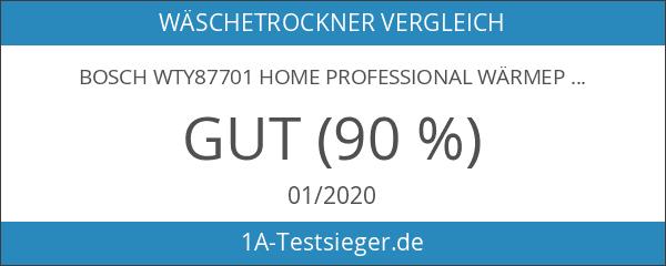 Bosch WTY87701 Home Professional Wärmepumpentrockner