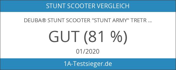 """Deuba® Stunt Scooter """"Stunt Army"""" Tretroller Freestyle ✔ Aluminium ✔"""
