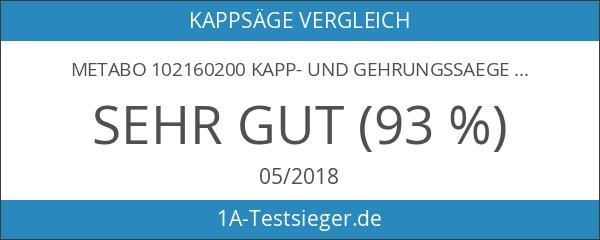 Metabo 102160200 Kapp- und Gehrungssaege KGS 216 Plus