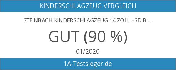 Steinbach Kinderschlagzeug 14 Zoll +SD blau Altersempfehlung ca. 2-7 Jahre