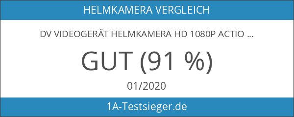 DV Videogerät Helmkamera HD 1080P Action Kamera Wifi Wasserdicht 14MP