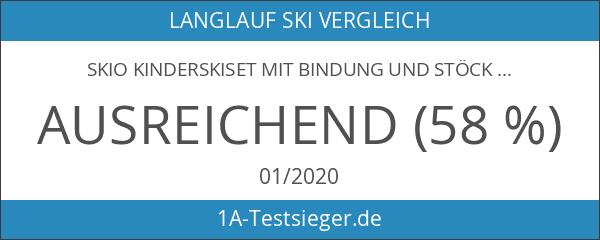 SKIO Kinderskiset mit Bindung und Stöcken - Verschieden Längen! 120