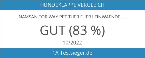 Namsan Tor Way Pet Tuer fuer Leinwaende - grosse 12