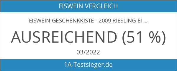 Eiswein-Geschenkkiste - 2009 Riesling Eiswein - Burgener Hasenläufer - lieblich