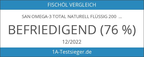 SAN OMEGA-3 Total naturell flüssig 200 ml - hochreines Omega-3
