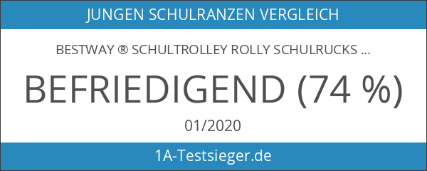 BESTWAY ® Schultrolley ROLLY Schulrucksack Trolley