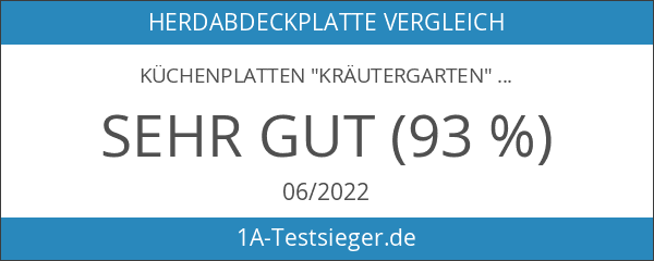 """Küchenplatten """"Kräutergarten"""""""