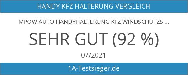 MPOW Auto Handyhalterung KFZ Windschutzscheibe oder Armaturenbrett Handyhalter Mount Holder