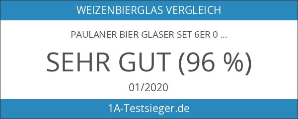 PAULANER BIER GLÄSER SET 6er 0