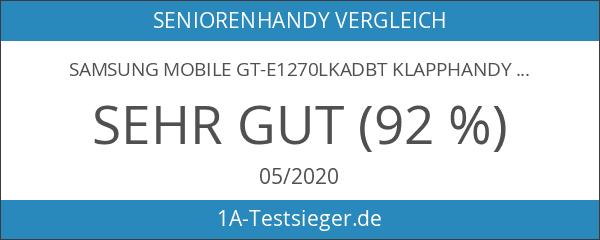Samsung Mobile GT-E1270LKADBT Klapphandy 4.5 cm schwarz