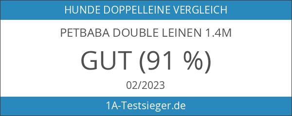 PETBABA Double Leinen 1.4m