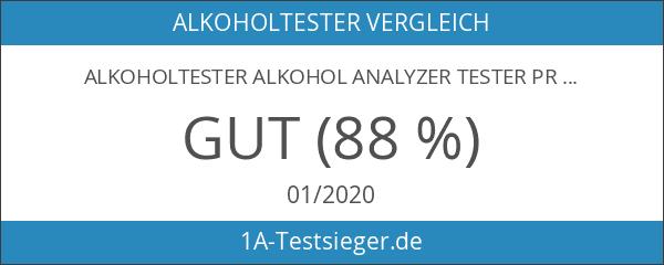 Alkoholtester Alkohol Analyzer Tester Promilletester Atemalkohol-Tester