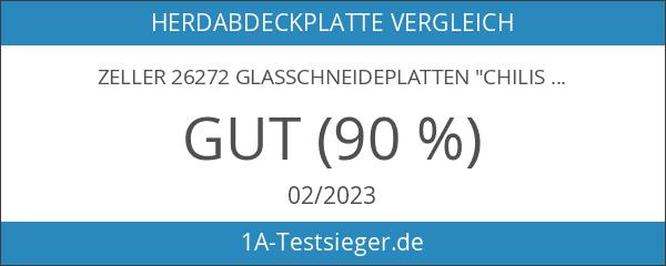"Zeller 26272 Glasschneideplatten ""Chilischote"""