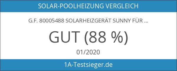 G.F. 80005488 Solarheizgerät Sunny für Swimming Pool und Planschbecken