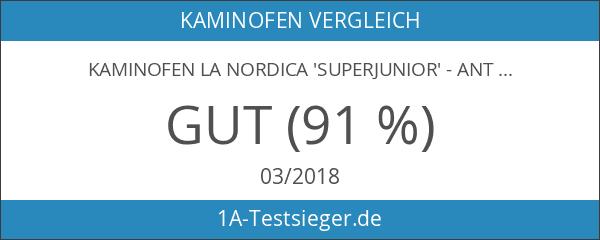 Kaminofen La Nordica 'Superjunior' - Anthrazit