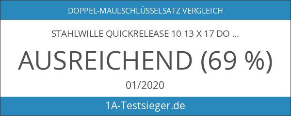 STAHLWILLE QuickRelease 1013x 17Doppel-Maulschlüsselsatz