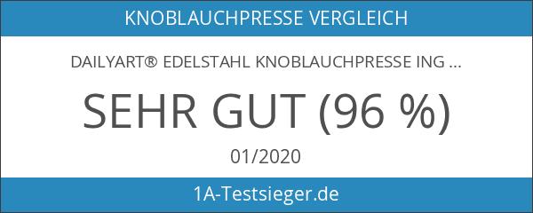 Dailyart® Edelstahl Knoblauchpresse Ingwerpresse