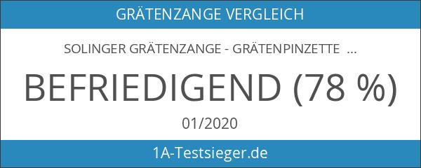 Solinger Grätenzange - Grätenpinzette - Edelstahl