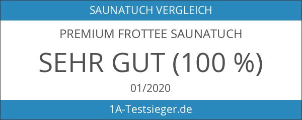 Premium Frottee Saunatuch