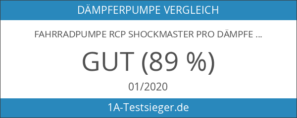 Fahrradpumpe RCP Shockmaster Pro Dämpferpumpe