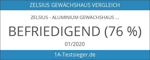 Zelsius - Aluminium Gewächshaus