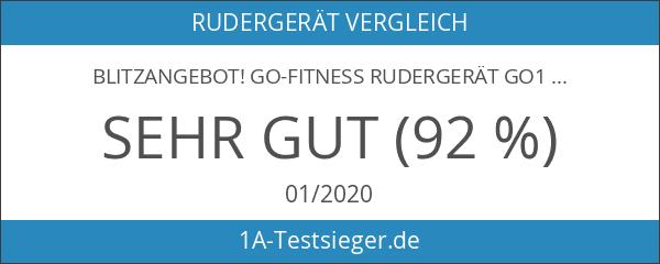 Blitzangebot! GO-Fitness Rudergerät GO1