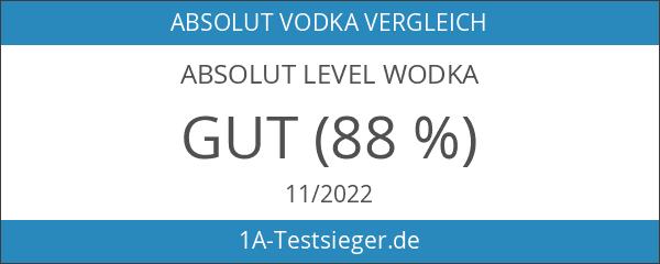 Absolut Level Wodka