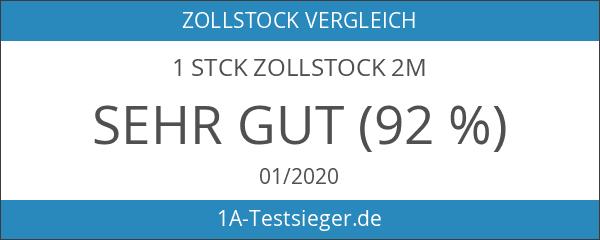 1 Stck Zollstock 2m