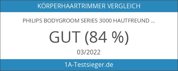 Philips Bodygroom Series 3000 hautfreundlicher Körperrasierer BG3015