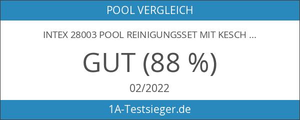 Intex 28003 Pool Reinigungsset mit Kescher
