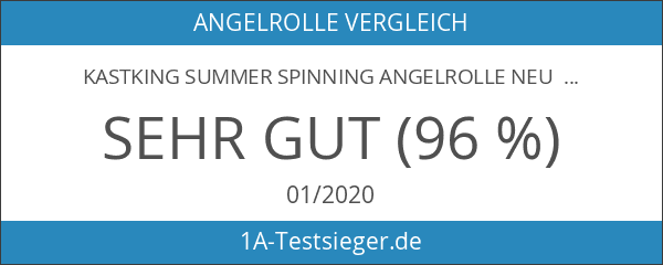KastKing Summer Spinning Angelrolle Neu für 2016 Sonderangebot Great Christmas