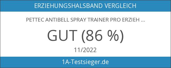 PetTec Antibell Spray Trainer Pro Erziehungshalsband mit automatischer Sprühfunktion inkl.